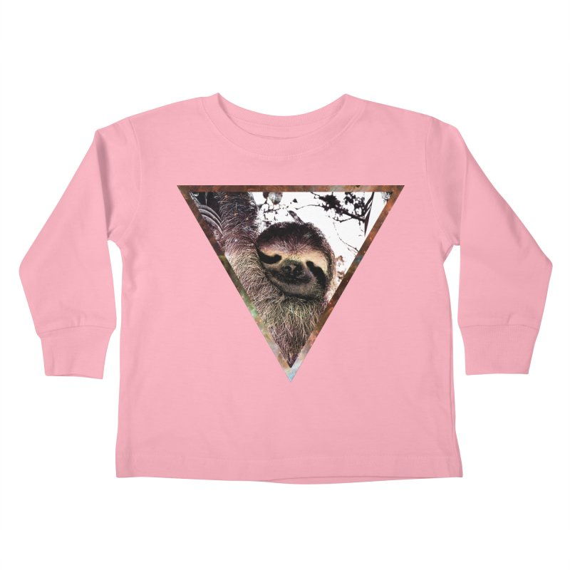 Galactic Sloth Kids Toddler Longsleeve T-Shirt by radesigns's Artist Shop