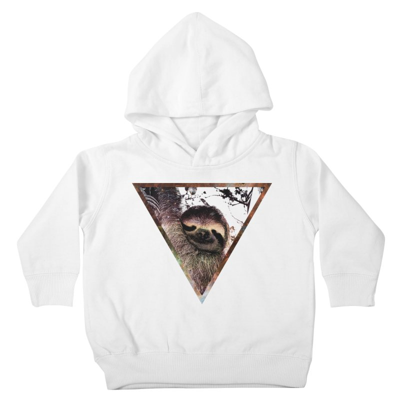 Galactic Sloth Kids Toddler Pullover Hoody by radesigns's Artist Shop