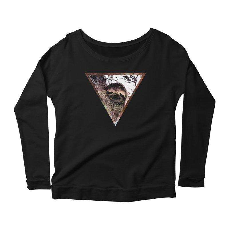 Galactic Sloth Women's Longsleeve T-Shirt by radesigns's Artist Shop
