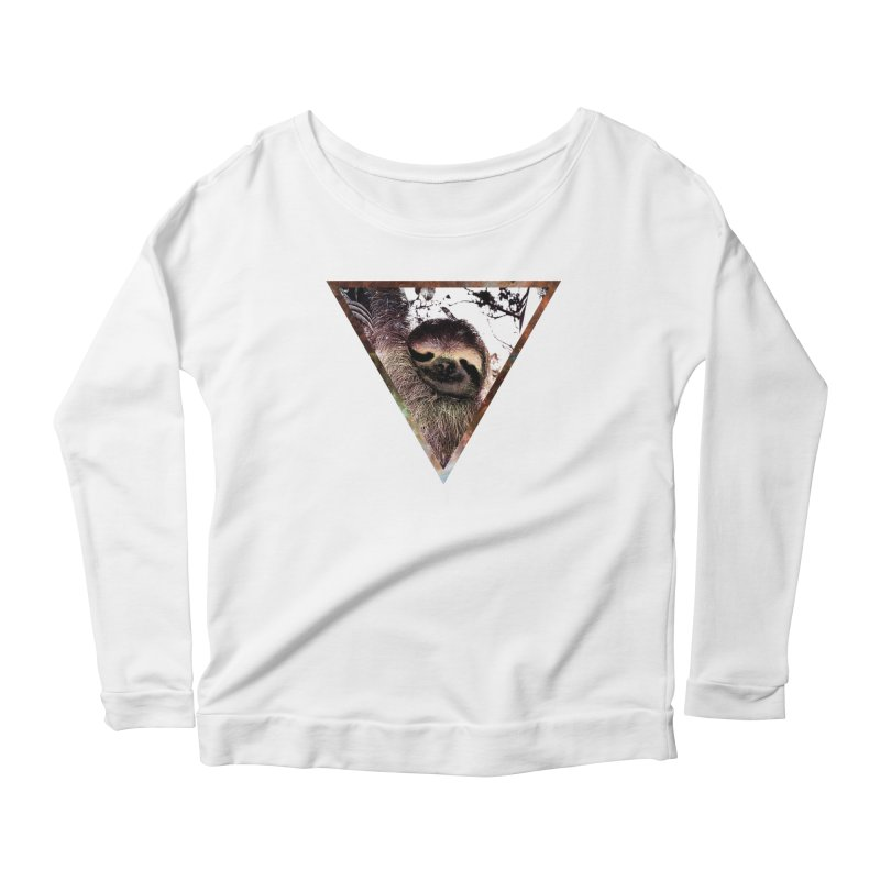 Galactic Sloth Women's Longsleeve T-Shirt by radesigns's Artist Shop