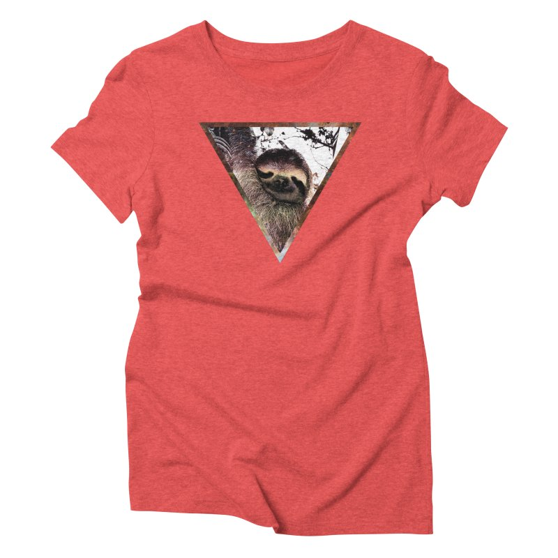 Galactic Sloth Women's Triblend T-Shirt by radesigns's Artist Shop