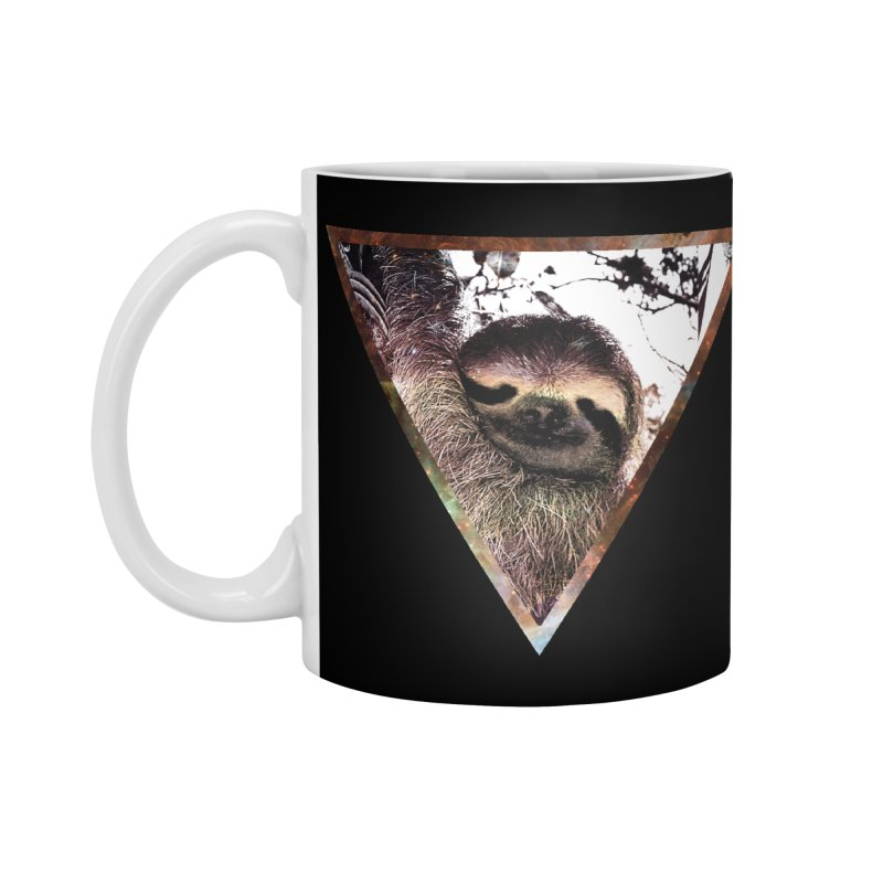 Galactic Sloth Accessories Mug by radesigns's Artist Shop