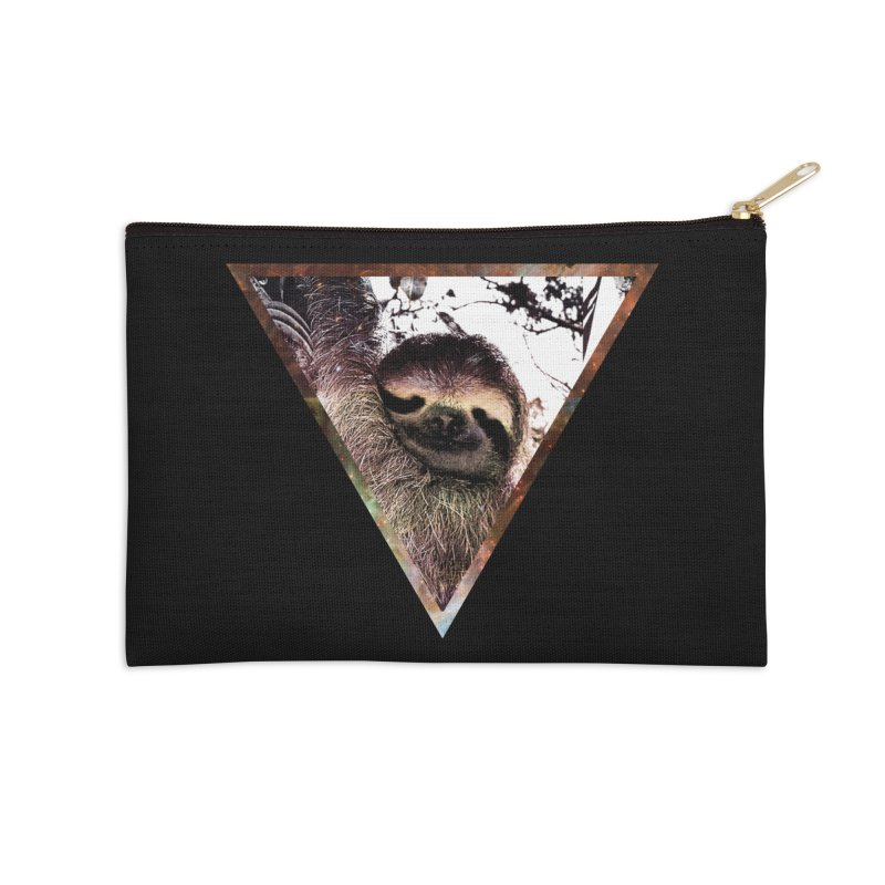 Galactic Sloth Accessories Zip Pouch by radesigns's Artist Shop