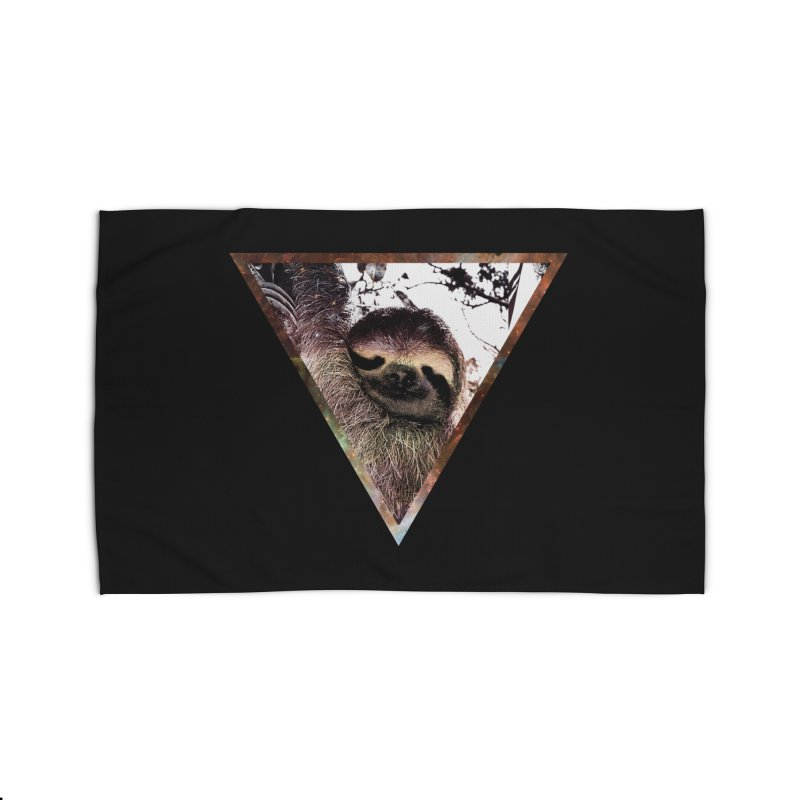 Galactic Sloth Home Rug by radesigns's Artist Shop