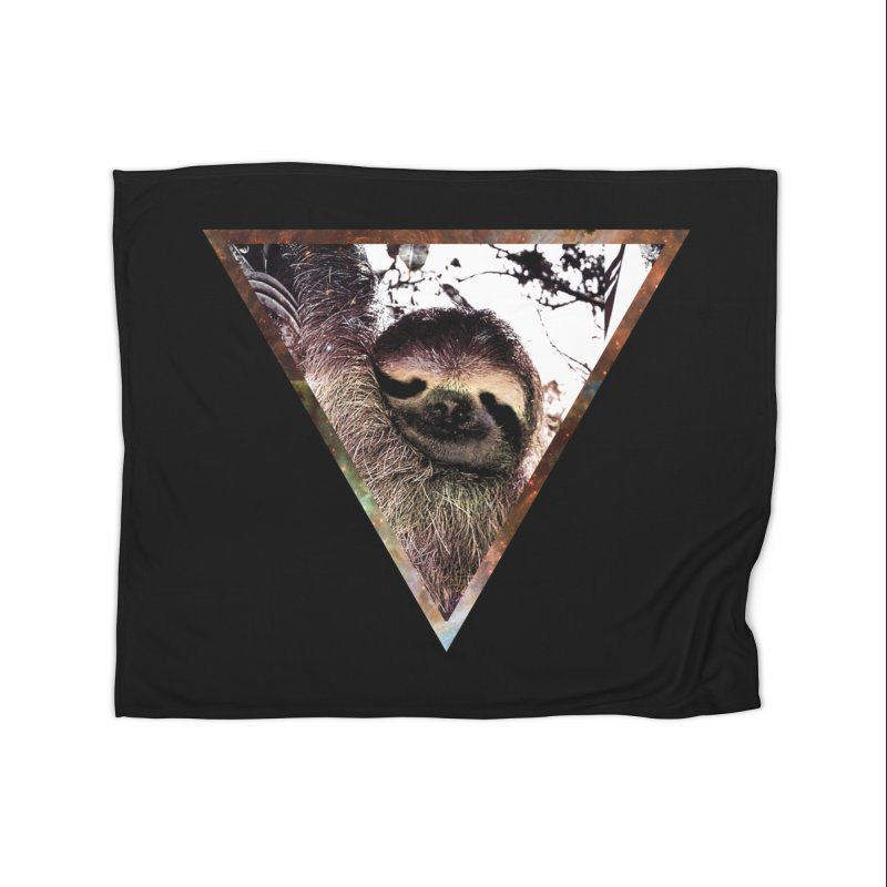 Galactic Sloth Home Blanket by radesigns's Artist Shop