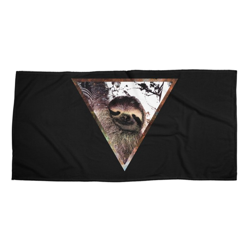 Galactic Sloth Accessories Beach Towel by radesigns's Artist Shop