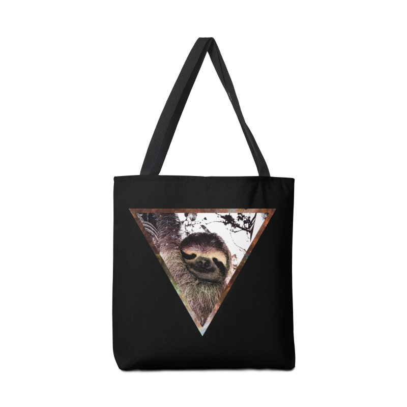 Galactic Sloth Accessories Bag by radesigns's Artist Shop
