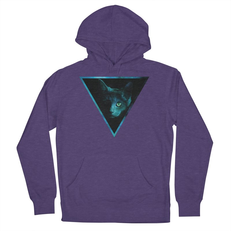Cosmic Triangle Cat Women's Pullover Hoody by radesigns's Artist Shop