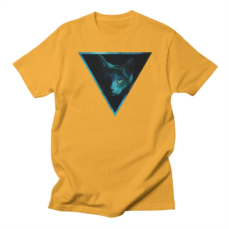 Cosmic Triangle Cat Women's Unisex T-Shirt by radesigns's Artist Shop
