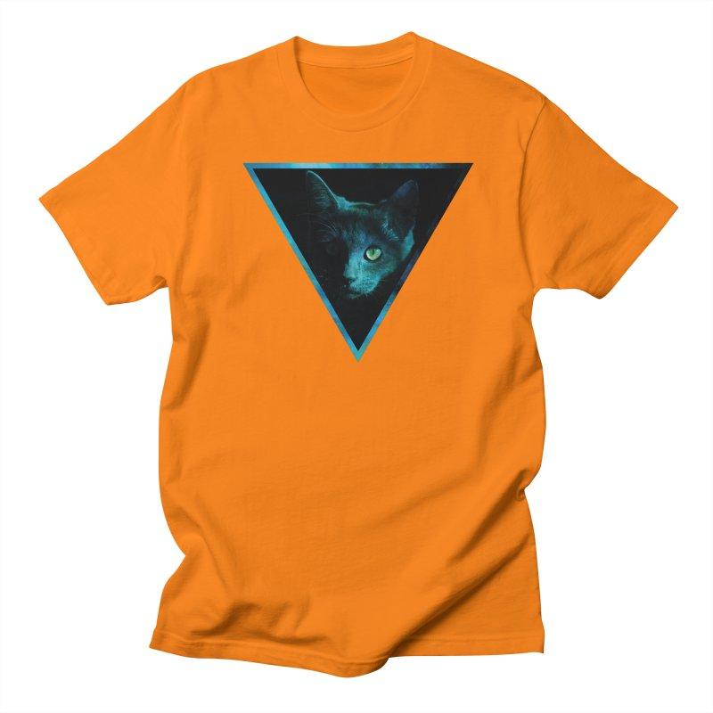 Cosmic Triangle Cat Women's Unisex T-Shirt by radesigns's Artist Shop