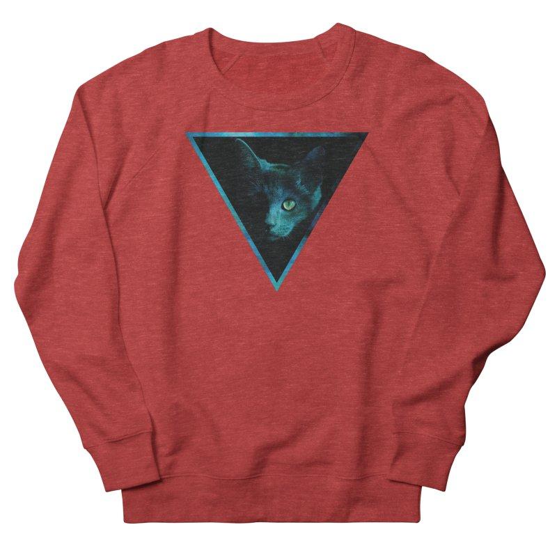 Cosmic Triangle Cat Women's Sweatshirt by radesigns's Artist Shop