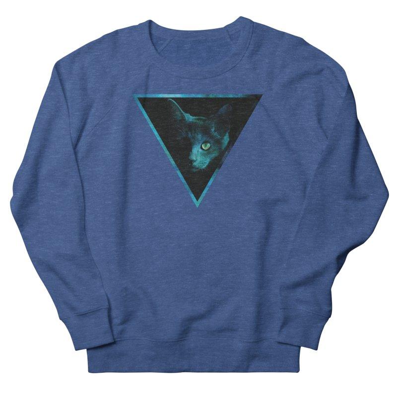 Cosmic Triangle Cat Men's Sweatshirt by radesigns's Artist Shop
