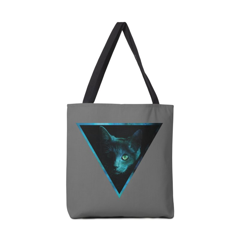 Cosmic Triangle Cat Accessories Bag by radesigns's Artist Shop