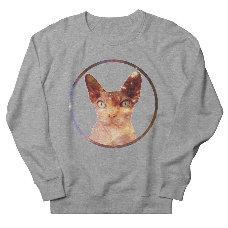 Cosmic Circle Sphynx Cat  Men's Sweatshirt by radesigns's Artist Shop