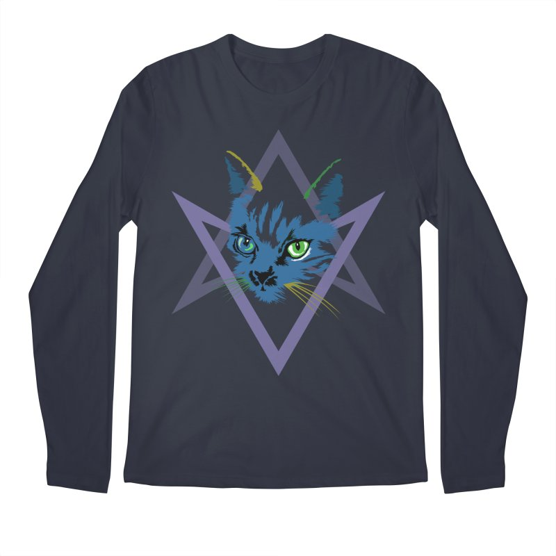 Cat is Love, Love Under Will Men's Longsleeve T-Shirt by radesigns's Artist Shop