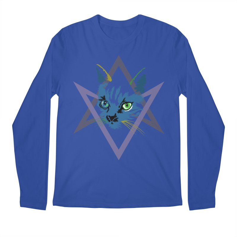 Cat is Love, Love Under Will Men's Longsleeve T-Shirt by radesigns's Artist Shop