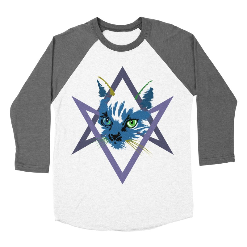 Cat is Love, Love Under Will Men's Baseball Triblend T-Shirt by radesigns's Artist Shop