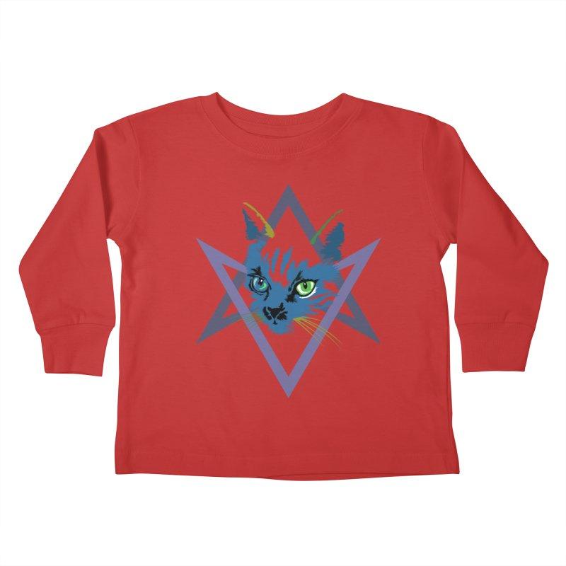 Cat is Love, Love Under Will Kids Toddler Longsleeve T-Shirt by radesigns's Artist Shop
