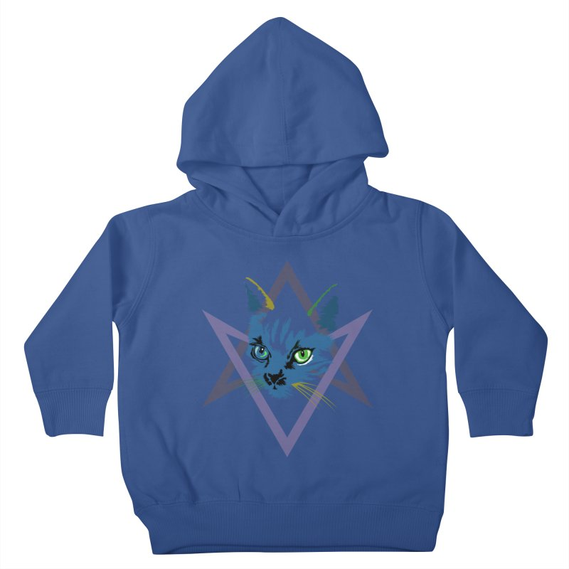 Cat is Love, Love Under Will Kids Toddler Pullover Hoody by radesigns's Artist Shop