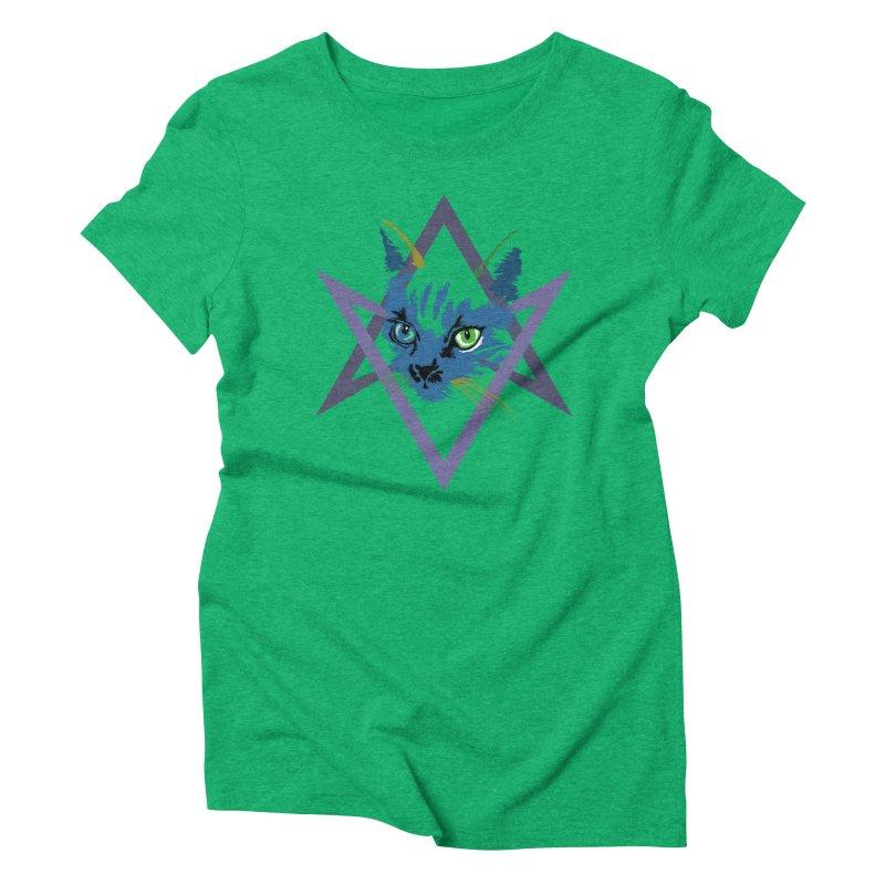 Cat is Love, Love Under Will Women's Triblend T-shirt by radesigns's Artist Shop