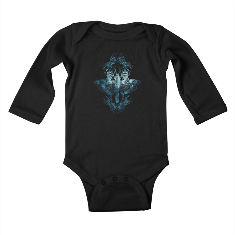 Entomology Kids Baby Longsleeve Bodysuit by radesigns's Artist Shop
