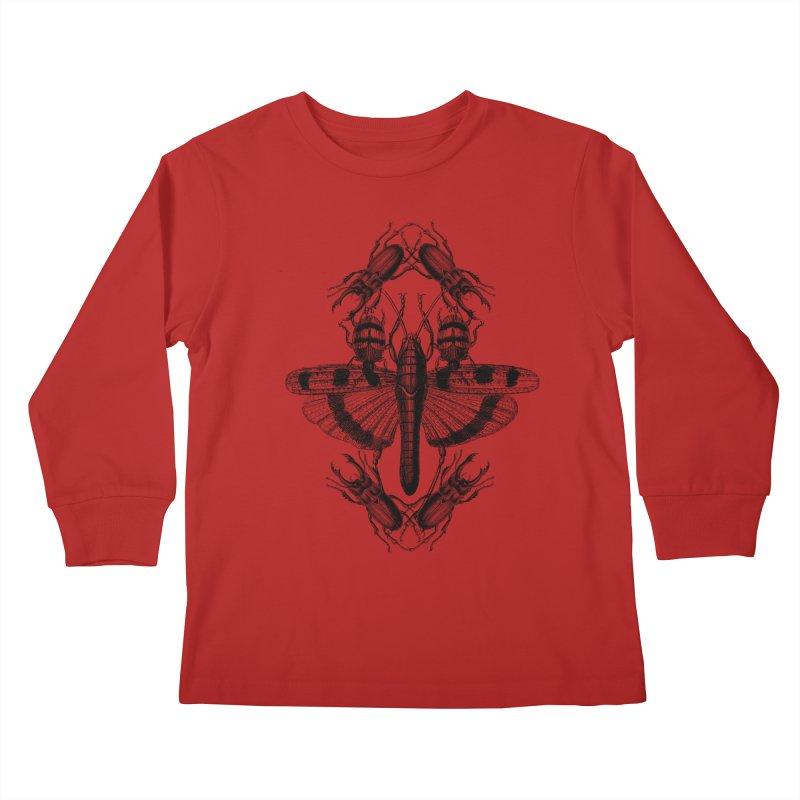 Entomology v2 Kids Longsleeve T-Shirt by radesigns's Artist Shop