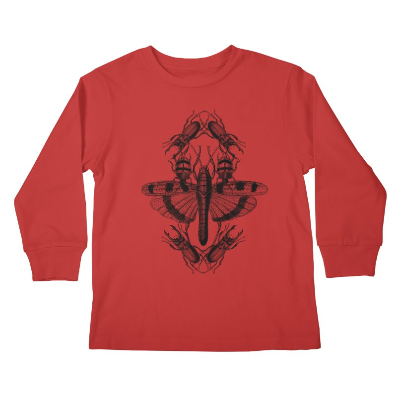 Entomology v2 Kids Longsleeve T-Shirt by radesigns's Artist Shop