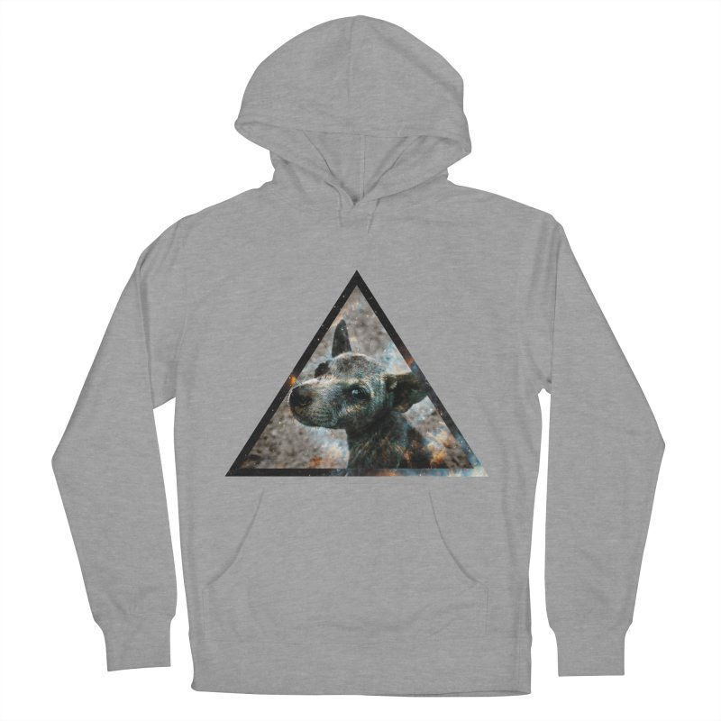 Galactic Dog Women's Pullover Hoody by radesigns's Artist Shop