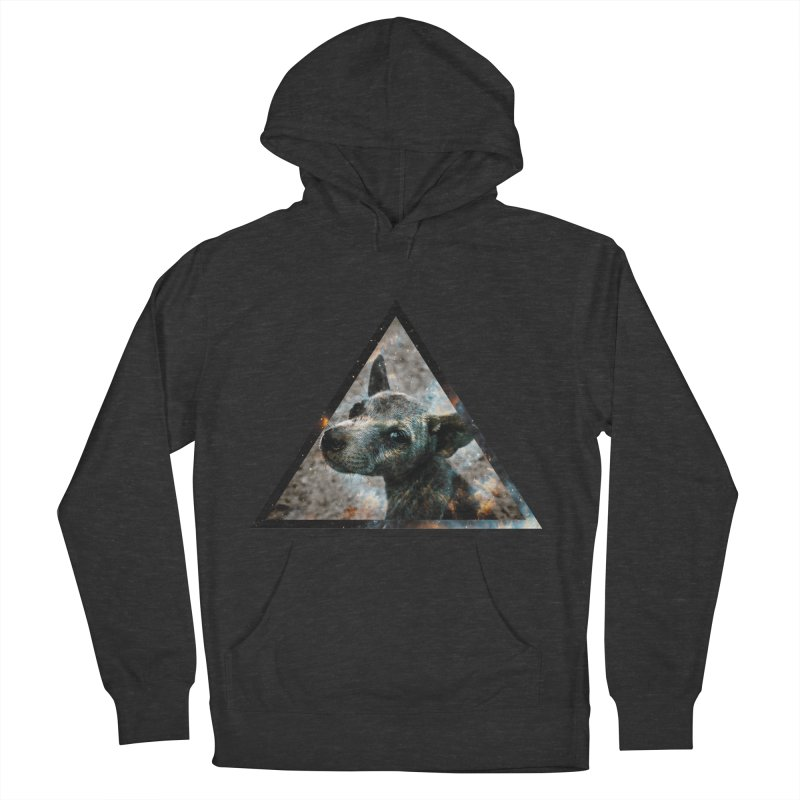 Galactic Dog Men's Pullover Hoody by radesigns's Artist Shop