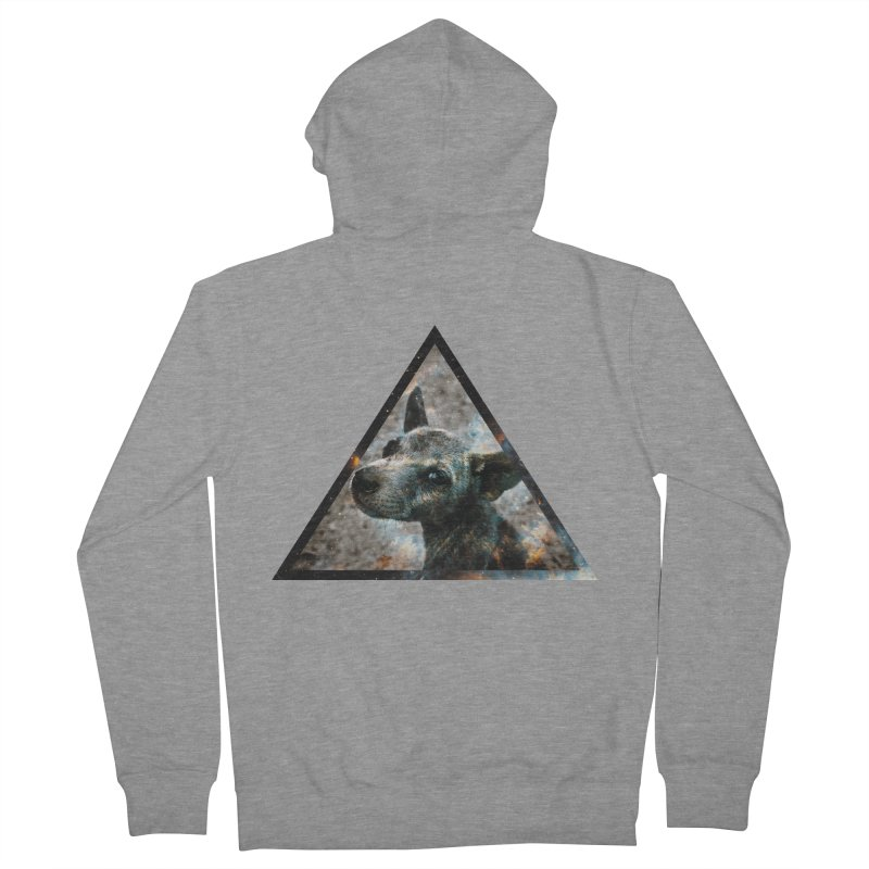Galactic Dog Men's Zip-Up Hoody by radesigns's Artist Shop