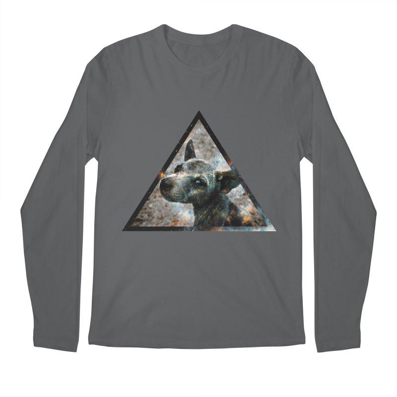 Galactic Dog Men's Longsleeve T-Shirt by radesigns's Artist Shop