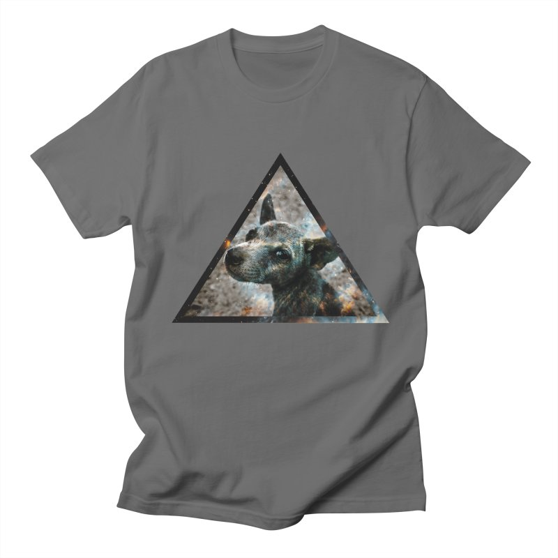 Galactic Dog Men's T-Shirt by radesigns's Artist Shop
