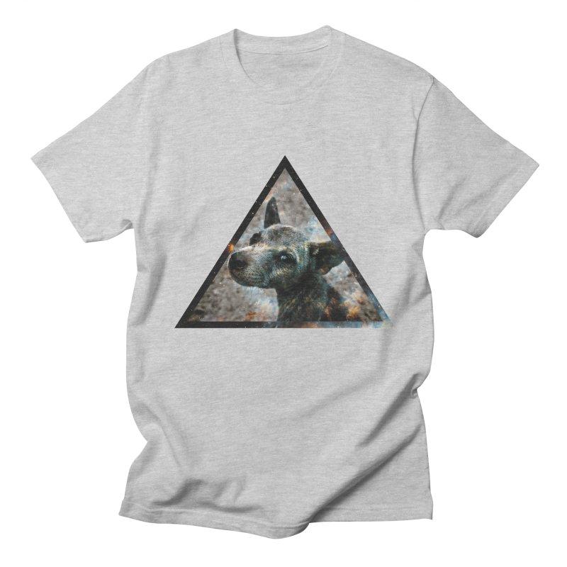 Galactic Dog Men's T-Shirt by radesigns's Artist Shop