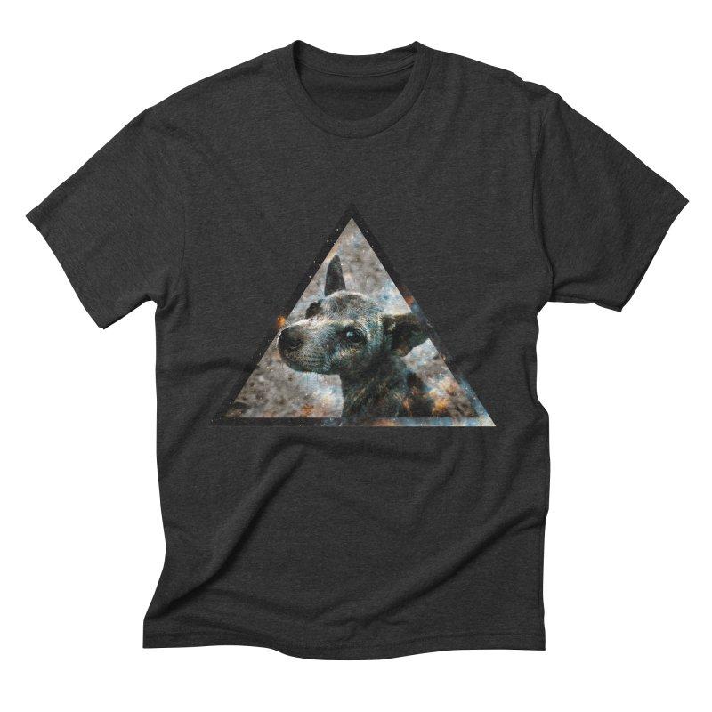 Galactic Dog Men's Triblend T-shirt by radesigns's Artist Shop