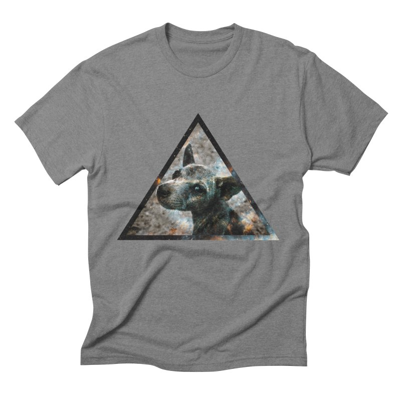Galactic Dog Men's Triblend T-Shirt by radesigns's Artist Shop
