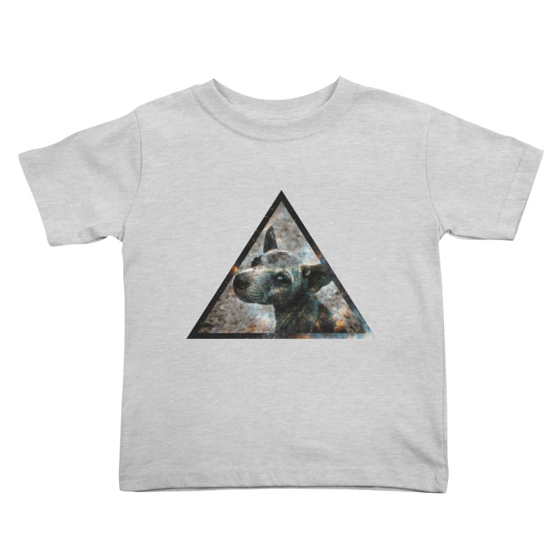 Galactic Dog Kids Toddler T-Shirt by radesigns's Artist Shop