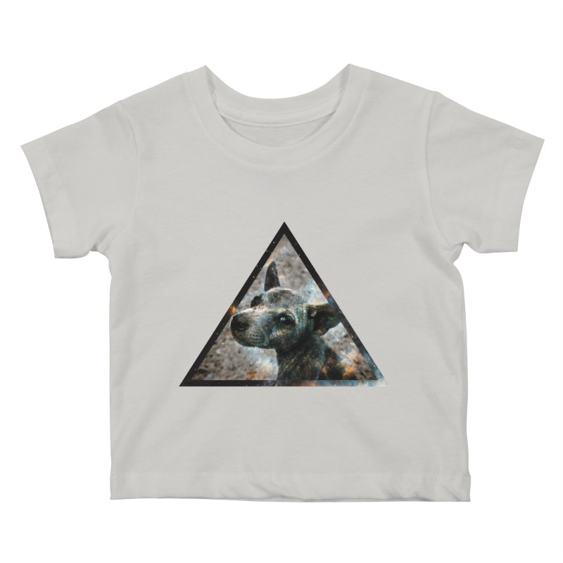 Galactic Dog Kids Baby T-Shirt by radesigns's Artist Shop