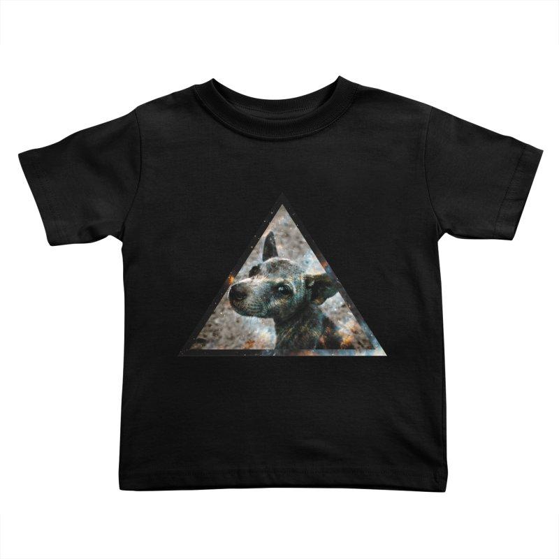 Galactic Dog Kids Toddler T-Shirt by radesigns's Artist Shop