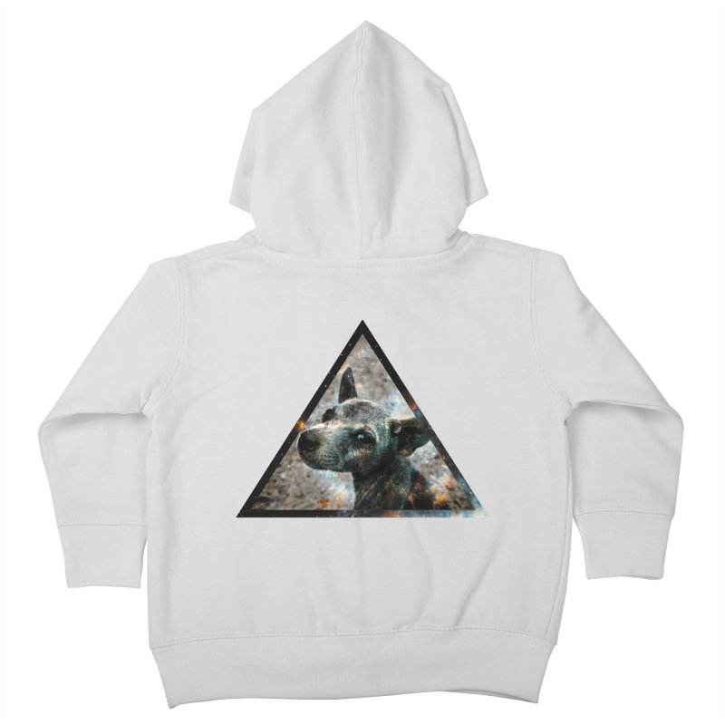Galactic Dog Kids Toddler Zip-Up Hoody by radesigns's Artist Shop