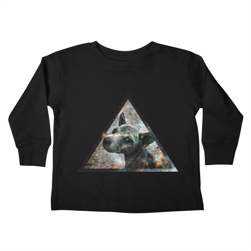 Galactic Dog Kids Toddler Longsleeve T-Shirt by radesigns's Artist Shop