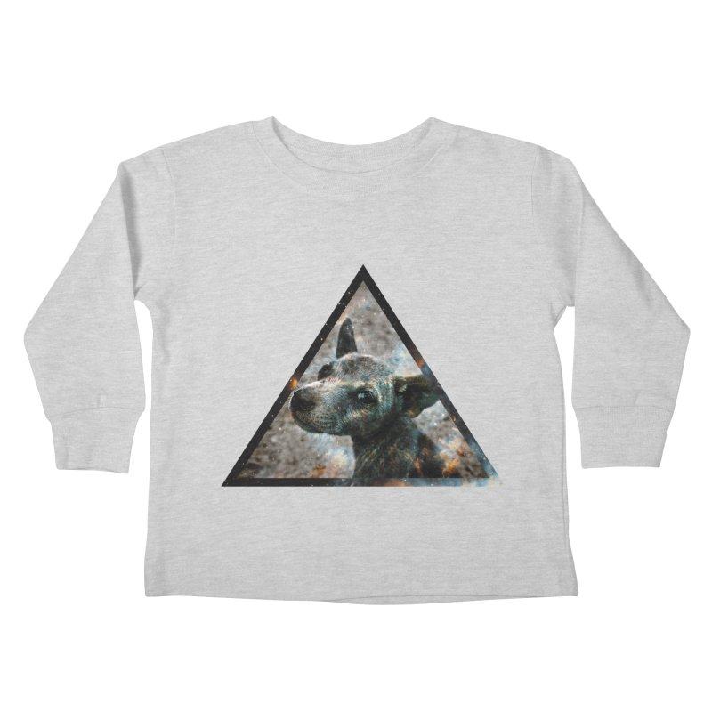 Galactic Dog Kids Toddler Longsleeve T-Shirt by radesigns's Artist Shop
