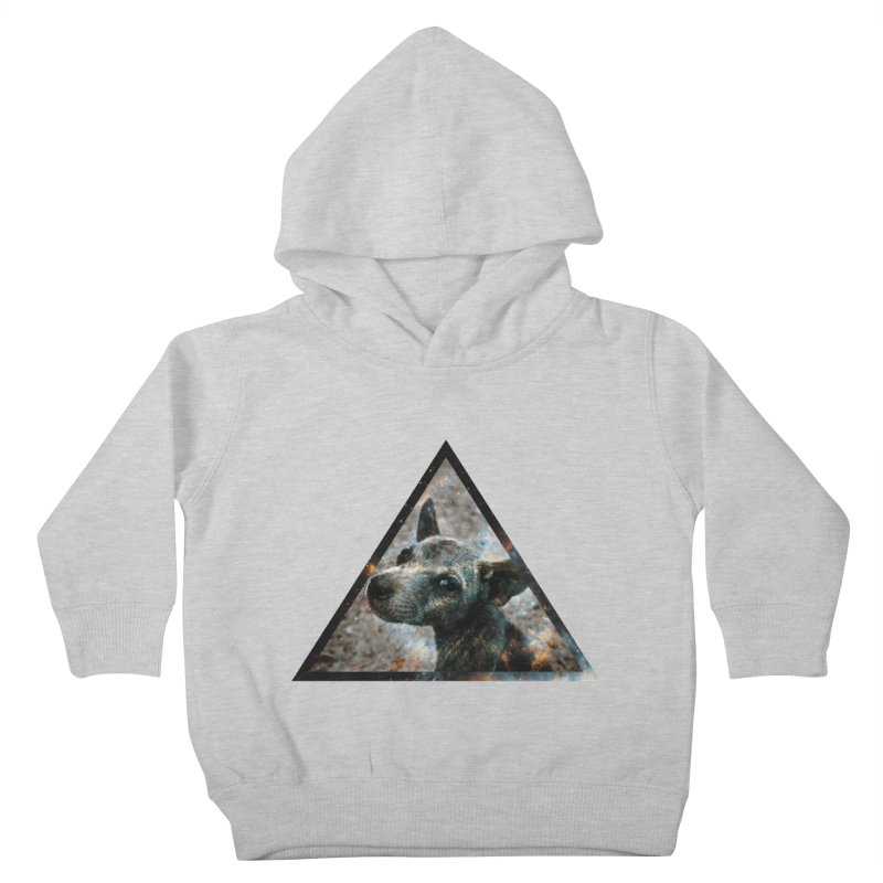 Galactic Dog Kids Toddler Pullover Hoody by radesigns's Artist Shop