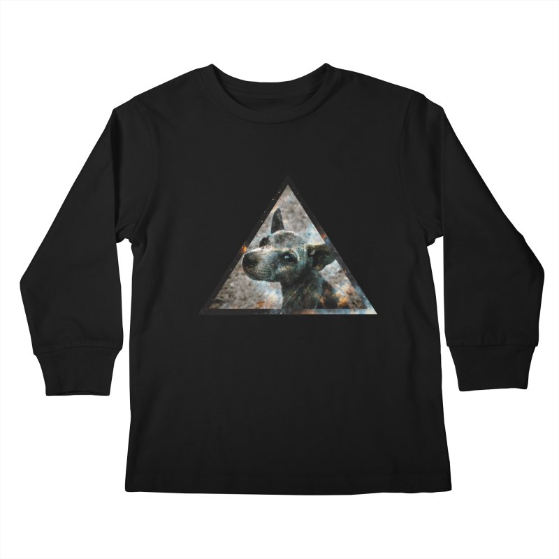 Galactic Dog Kids Longsleeve T-Shirt by radesigns's Artist Shop