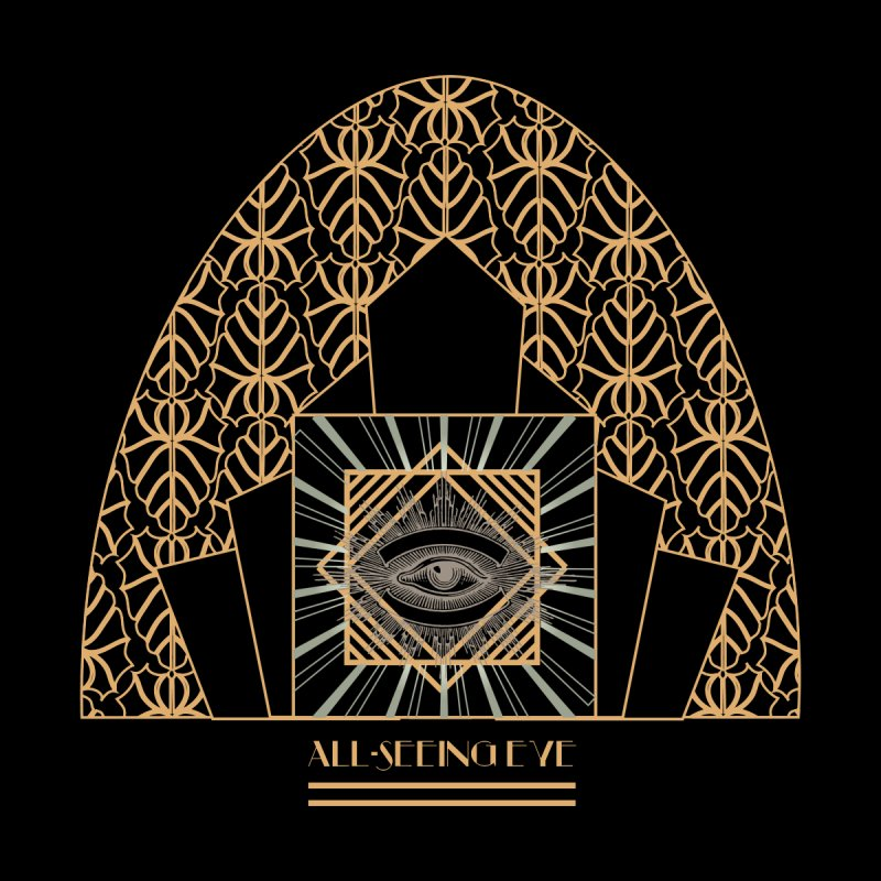 All Seeing-Eye - Art Deco by radesigns's Artist Shop