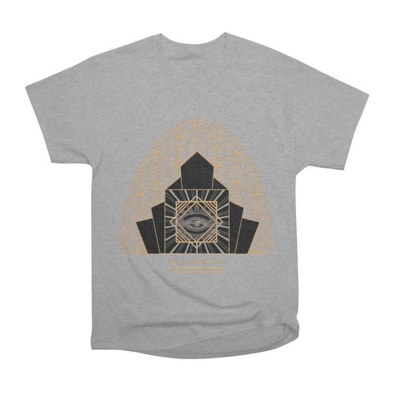 All Seeing-Eye - Art Deco Men's Heavyweight T-Shirt by radesigns's Artist Shop