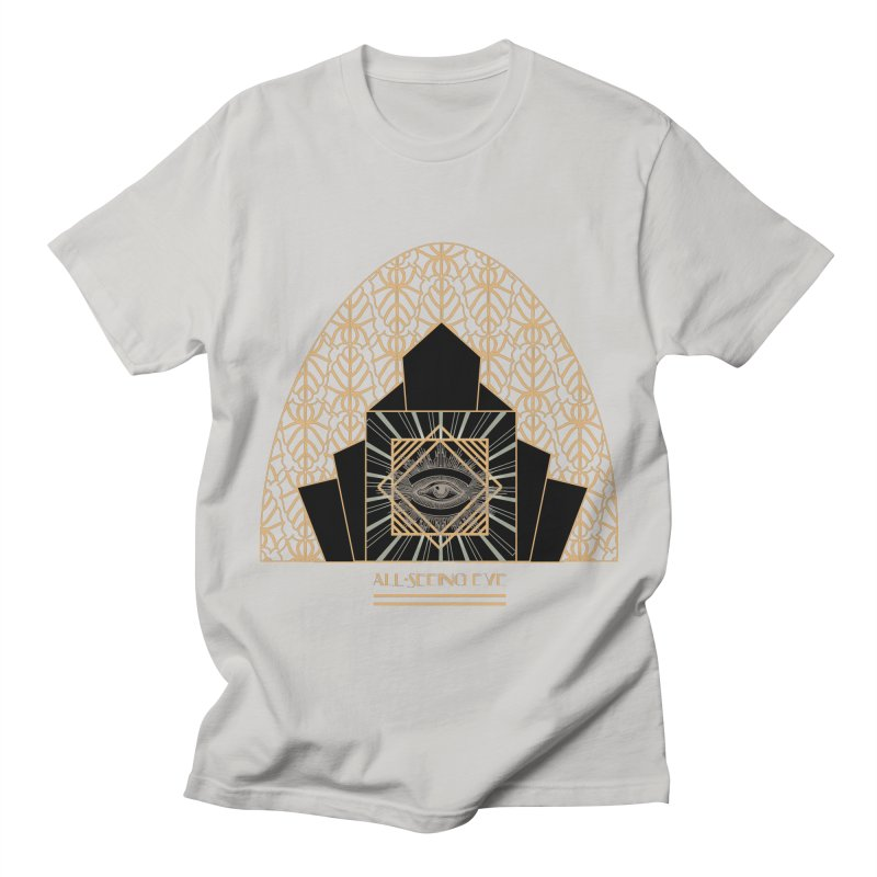 All Seeing-Eye - Art Deco Women's Regular Unisex T-Shirt by radesigns's Artist Shop
