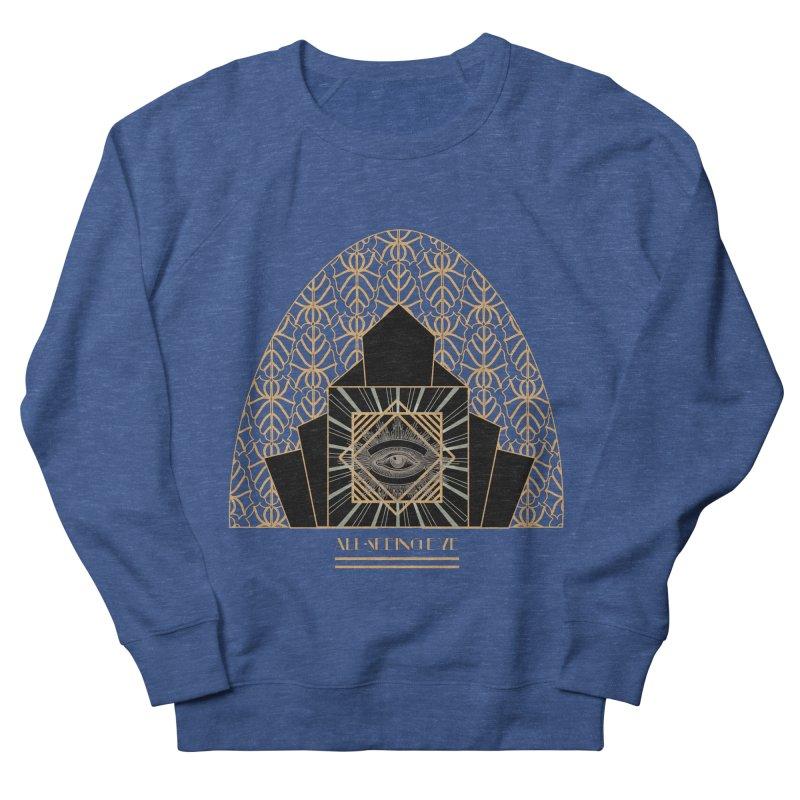 All Seeing-Eye - Art Deco Men's Sweatshirt by radesigns's Artist Shop