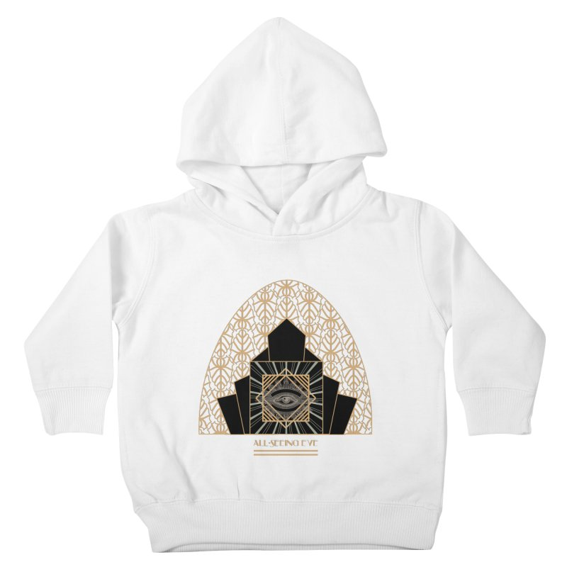All Seeing-Eye - Art Deco Kids Toddler Pullover Hoody by radesigns's Artist Shop