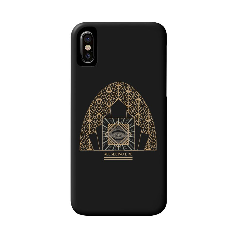 All Seeing-Eye - Art Deco Accessories Phone Case by radesigns's Artist Shop
