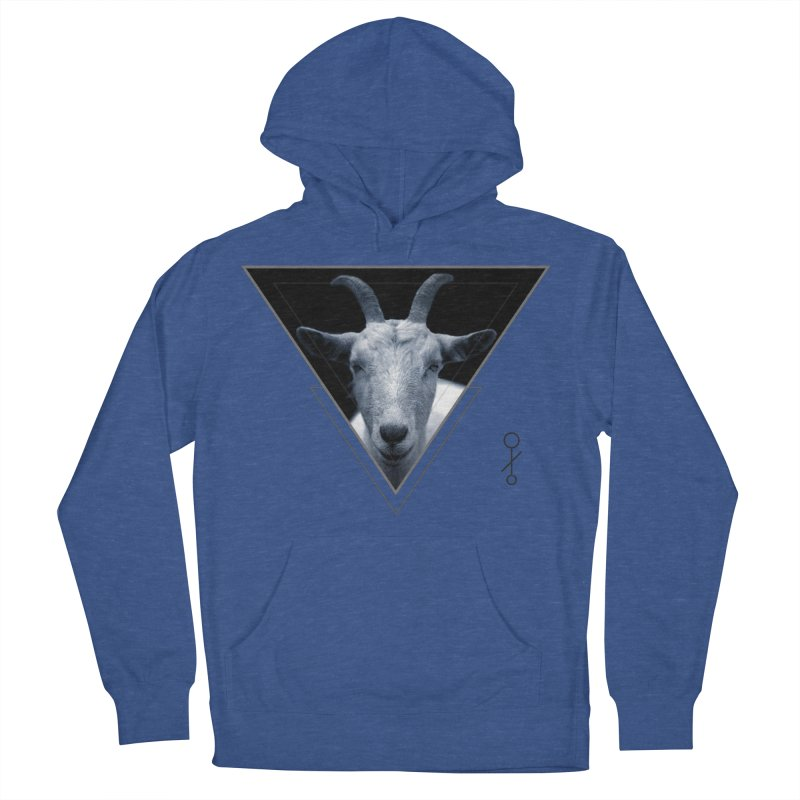 Triangle Goat Sigil Men's Pullover Hoody by radesigns's Artist Shop